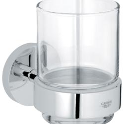Køb GROHE Essentials glas med holder | 773876104