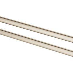 Køb GROHE Essentials håndklædeholder dobbelt 439 mm poleret nikkel | 775658160