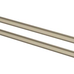 Køb GROHE Essentials håndklædeholder dobbelt 439 mm børstet nikkel | 775658161