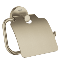 Køb GROHE Essentials toiletrulleholder med låg cool sunrise | 776454161