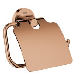 Køb GROHE Essentials toiletrulleholder med låg warm sunset | 776454162