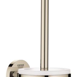 Køb GROHE Essentials toiletbørste sæt poleret nikkel | 778452160