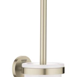 Køb GROHE Essentials toiletbørste sæt børstet nikkel | 778452161
