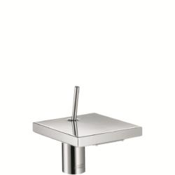 Køb AXOR Starck X 1-grebs håndvaskarmatur 80 uden løft-op bundventil | 701533004