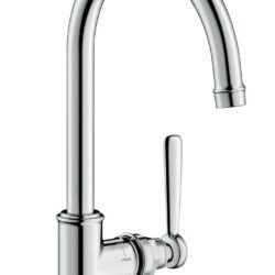 Køb AXOR Montreux håndvaskarmatur 210 med løft-op ventil krom | 702091504