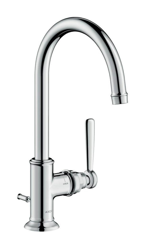 Køb AXOR Montreux håndvaskarmatur 210 med løft-op ventil krom   702091504