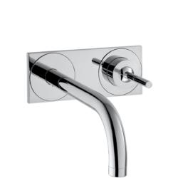 Køb AXOR Uno2 2-huls håndvaskarmatur 165 mm tud | 702487104
