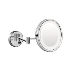 Køb hansgrohe Logis Universal kosmetikspejl med LED lys krom | 771967304