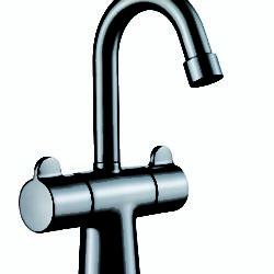 Køb Børman Skanmix 2-grebs Håndvaskarmatur krom uden bundventil | 701081004