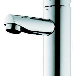 Køb Børma A1 Håndvaskarmatur stainless look uden bundventil | 701421117