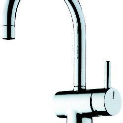 Køb Børma A1 Håndvaskarmatur krom med bundventil C-tud | 701922104