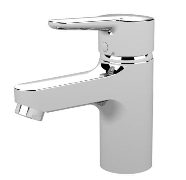 Køb Børma Connect håndvaskarmatur med bundventil krom | 702013104