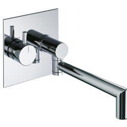 Køb Børma A6 Indbygningsarmatur med svingtud krom | 709163104