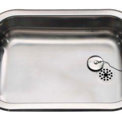 Køb Intra Juvel køkkenvask A500 500 x 400 mm rustfri stål med prop | 681191100