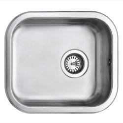 Køb Intra Juvel køkkenvask K400 400 x 340 mm rustfri stål med strainer | 681194130