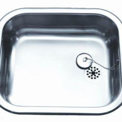 Køb Intra Juvel køkkenvask A400P 400 x 340 mm blank | 681204100