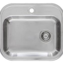 Køb Intra Juvel Barents køkkenvask BK480B1 550 x 485 mm | 681216160