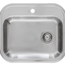 Køb Intra Juvel Barents køkkenvask BKU480B1 555 x 485 x 150 mm | 681216190