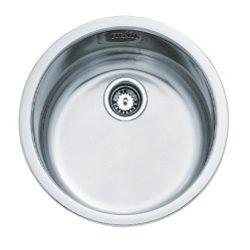 Køb Intra Juvel køkkenvask KC380RO2 Ø385 mm rustfri stål | 681233130