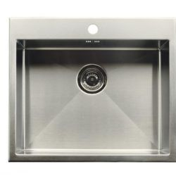 Køb Intra Juvel køkkenvask 530TH 500 x 400 mm rustfri stål | 681257130
