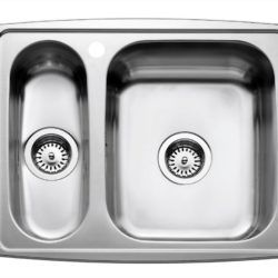 Køb Intra Juvel køkkenvask HZ615SH 615 x 510 mm rustfri stål | 681580130