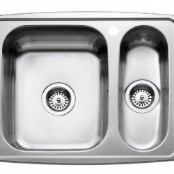 Køb Intra Juvel køkkenvask HZ615HPL 615 x 510 mm rustfri stål | 681581140