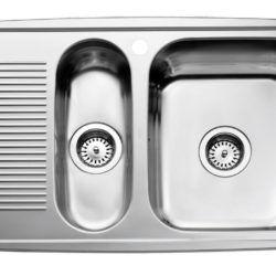 Køb Intra Juvel køkkenvask HZD815SH-06 815 x 510 mm rustfri stål | 682052130