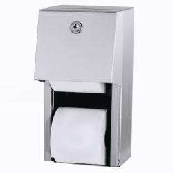 Køb Intra Juvel Easy toiletrulleholder i rustfrit stål for to ruller | 776295306