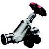 Køb Kemper Niro fristrømsventil 42 mm rustfri med aftapningsventil   413420240