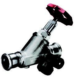 Køb Kemper Niro fristrømsventil 42 mm rustfri med aftapningsventil | 413420240