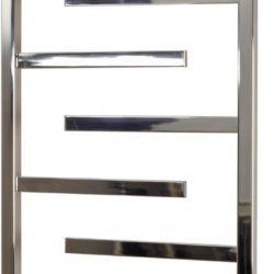 Køb Kriss Luna håndklædevarmer elektrisk 1000 x 500 mm poleret rustfrit stål   330176500