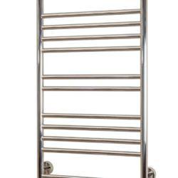 Køb Kriss Apollo håndklædevarmer elektrisk 1000 x 500 mm poleret rustfrit stål | 330177500