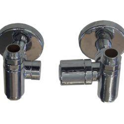 Køb Kriss Corner Combi ventilsæt V/L børstet | 330885010