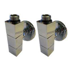 Køb Kriss 4-K2 ventilsæt V/L med tilslutningsrør og rosetter hvid | 330886510