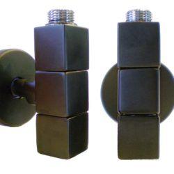 Køb Kriss 4-K2 ventilsæt V/L med tilslutningsrør og rosetter hvid | 330886519