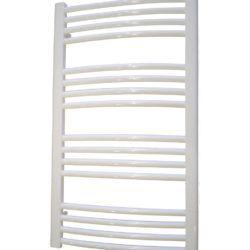 Køb Kriss Round håndklæderadiator 860 x 500 mm hvid | 331013050