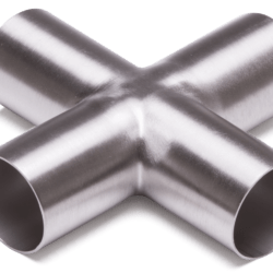 Køb X- styk ISO KORT 316L SATIN Ø25X1