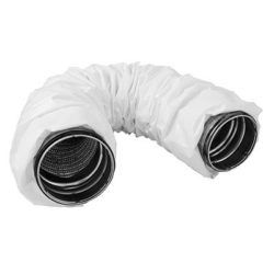 Køb Lindab fleksibel lyddæmper FSA Ø200 L=1100 (Kompression L=550) med Safetilslutning | 352851200