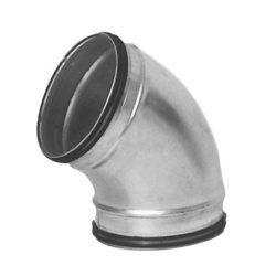 Køb Lindab bøjning presset BU 60° Ø160 | 353919160