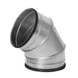 Køb Lindab bøjning falset BFU 60° Ø600 | 353920415