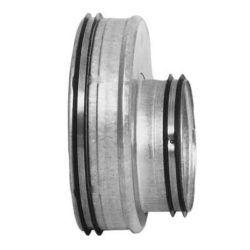 Køb Lindab reduktion kort excentrisk RU 160 x 100 mm nippel/nippel | 353942158
