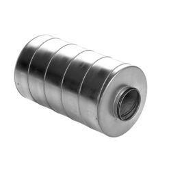 Køb Lindab lyddæmper SLU Ø630 x 900 mm 100 mm isolering   353975420