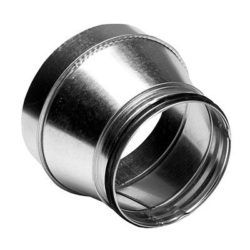 Køb Lindab reduktion lang centrisk RCFLU 450 x 160 mm muffe/nippel | 355944439
