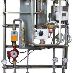 Køb Metro Therm LV2 brugsvandsveksler 64 kW til CTS rustfri | 376743014