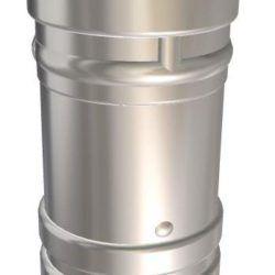 Køb Metalbestos Omega skorstensforing Ø80 x 930 mm | 342807080