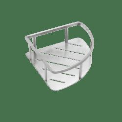 Køb Pressalit hjørnehylde rustfrit stål | 772471200