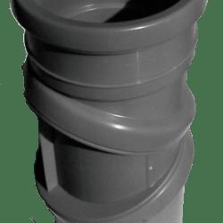 Køb Bøjning drejelig grå 75 mm muffe | 186193075
