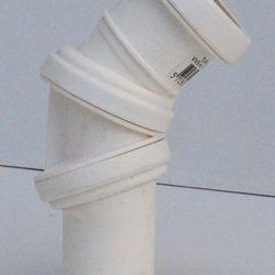 Køb Bøjning drejelig hvid 50 mm muffe | 186193350