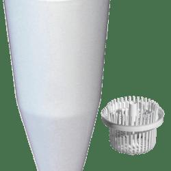 Køb Tragt purus komplet hvid 40X11/4 | 750466740