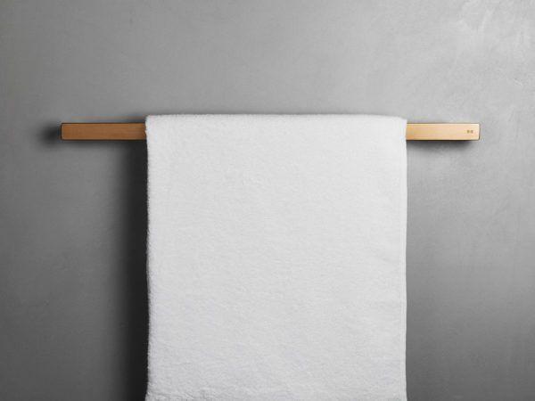 Køb Unidrain ReFrame håndklædestang kobber | 775668308
